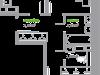 """Схема квартиры в проекте """"Пригород Лесное""""- #1787739002"""