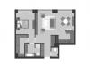 "Схема квартиры в проекте ""Prime park (Прайм парк)""- #1705013154"