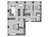 "Схема квартиры в проекте ""Prime park (Прайм парк)""- #1401012715"