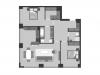 "Схема квартиры в проекте ""Prime park (Прайм парк)""- #724296903"