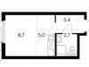 """Схема квартиры в проекте """"Просторная 7""""- #580028360"""
