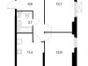 """Схема квартиры в проекте """"Просторная 7""""- #1114625067"""