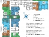 """Схема квартиры в проекте """"ПущиноГрад""""- #657135763"""