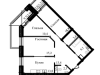 """Схема квартиры в проекте """"Ракитня""""- #2082922785"""