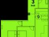 """Схема квартиры в проекте """"Red Loft (Ред Лофт)""""- #2082787915"""