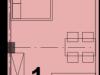 """Схема квартиры в проекте """"Red Loft (Ред Лофт)""""- #1963947016"""