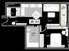 """Схема квартиры в проекте """"РЕНОМЭ""""- #1852620807"""