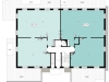 """Схема квартиры в проекте """"River Residences""""- #1687917354"""