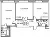 """Схема квартиры в проекте """"Royal House on Yauza (Рояль Хаус на Яузе)""""- #702156423"""