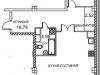 """Схема квартиры в проекте """"Royal House on Yauza (Рояль Хаус на Яузе)""""- #255931673"""