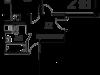 """Схема квартиры в проекте """"Рябиновые аллеи""""- #627170806"""