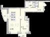 """Схема квартиры в проекте """"Санрайс (Воскресенский парк)""""- #1644203425"""