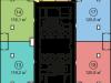 """Схема квартиры в проекте """"Савеловский Сити""""- #1373813103"""