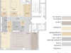 "Схема квартиры в проекте ""Savvin River Residence (Саввин Ривер Резиденс)""- #1332812099"