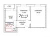 "Схема квартиры в проекте ""Шустовъ-Парк (Шахматово-Парк)""- #1559964632"