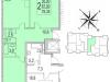 """Схема квартиры в проекте """"Сказка""""- #2143612280"""