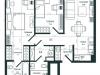 "Схема квартиры в проекте ""Slava""- #1816009635"