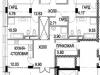 """Схема квартиры в проекте """"Снегири-Эко""""- #40574306"""