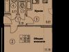 """Схема квартиры в проекте """"Солнечная аллея""""- #1388793675"""