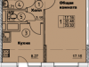 """Схема квартиры в проекте """"Солнечная аллея""""- #999871164"""