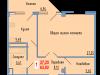 """Схема квартиры в проекте """"Сосновый парк""""- #1911743631"""