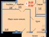 """Схема квартиры в проекте """"Сосновый парк""""- #1305247147"""