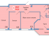 """Схема квартиры в проекте """"Сосновый парк""""- #1505174769"""