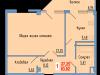 """Схема квартиры в проекте """"Сосновый парк""""- #1734924057"""