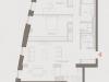 """Схема квартиры в проекте """"Современник""""- #527897874"""