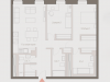 """Схема квартиры в проекте """"Современник""""- #1869330729"""