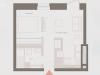 """Схема квартиры в проекте """"Современник""""- #1477259654"""