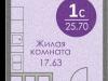"""Схема квартиры в проекте """"Спортивный квартал""""- #1438171703"""