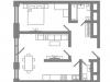 "Схема квартиры в проекте ""Stellar City""- #346082751"
