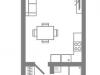 "Схема квартиры в проекте ""Stellar City""- #293555185"