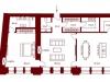 """Схема квартиры в проекте """"Stoleshnikov 7""""- #1872433741"""