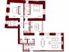 """Схема квартиры в проекте """"Stoleshnikov 7""""- #274440221"""