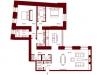 """Схема квартиры в проекте """"Stoleshnikov 7""""- #1566694593"""