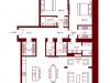"""Схема квартиры в проекте """"Stoleshnikov 7""""- #36467363"""