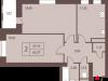 """Схема квартиры в проекте """"Столичный""""- #1838848753"""
