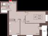 """Схема квартиры в проекте """"Столичный""""- #1949997973"""