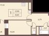 """Схема квартиры в проекте """"Столичный""""- #857367048"""