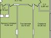 """Схема квартиры в проекте """"Светолюбово""""- #1321290601"""
