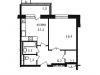 """Схема квартиры в проекте """"Свой""""- #152868460"""