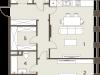 "Схема квартиры в проекте ""The Mostman""- #30944514"