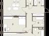 "Схема квартиры в проекте ""The Mostman""- #1459543891"