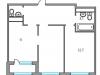 "Схема квартиры в проекте ""Тринити""- #1154114864"