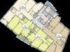 """Схема квартиры в проекте """"Триумфальный (Кутузовская миля)""""- #485499186"""