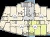 """Схема квартиры в проекте """"Триумфальный (Кутузовская миля)""""- #1858975972"""