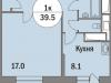 """Схема квартиры в проекте """"Триумфальный (Кутузовская миля)""""- #1484428105"""