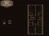 "Схема квартиры в проекте ""Tweed park (Твид парк)""- #752705840"
